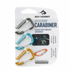 Set Mosquetones Sea to Summit Carabiner 3 pcs